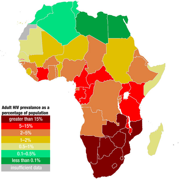 an analysis of the rising aids epidemic in the continent of africa